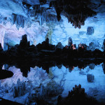 Natural wonder – cave, called The Reed Flute, located in Guilin, Guangxi, China