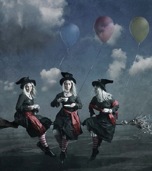 Unwritten tales. Beautiful photoart by Anna Berkoz