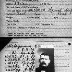 ID card of a British man