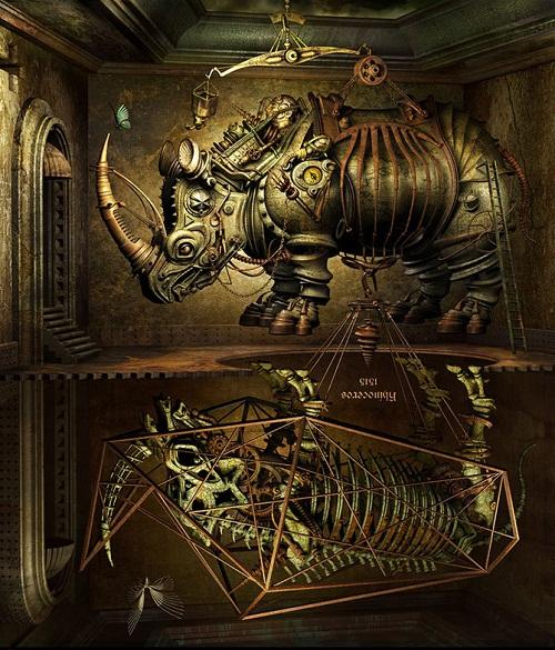 Mechanical Mirage by Kazuhiko Nakamura
