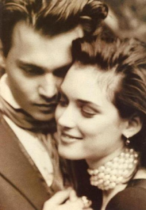Winona Forever. Johnny Depp and Winona Ryder