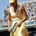 Russian professional tennis player Maria Sharapova