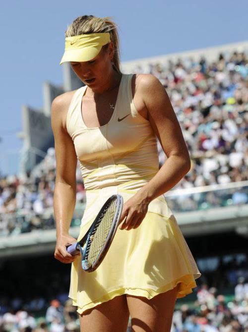 Russian professional tennis player Maria Sharapova