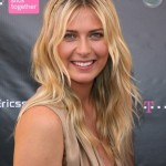 Beautiful Russian tennis player Sharapova