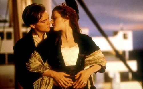 Iconic scene, Titanic, 1997