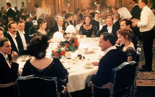the luxurious Titanic.