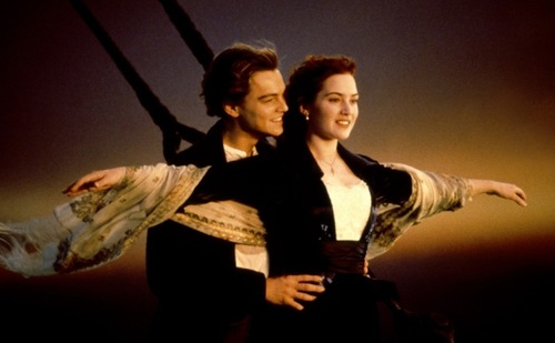 Most recognisable scene from the Titanic