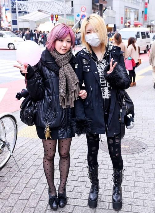 Harajuku street fashion of Tokyo