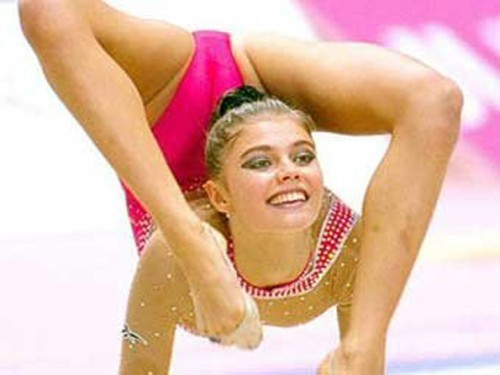 Russian Honored Master of Sports, retired rhythmic gymnast, and politician Alina Kabaeva