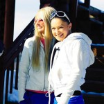 Dasha Pynzar (Chernykh) and her best friend Evgenia Feofelaktova
