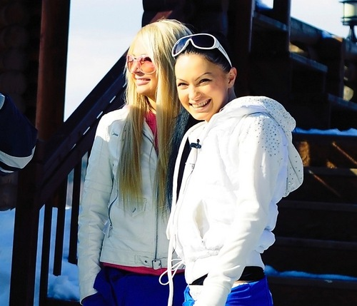 Dasha Pynzar (Chernykh) and her best friend Evgenia Feofelaktova