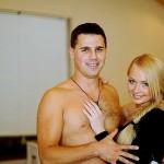 Dasha Pynzar (Chernykh) and her husband Sergei Pynzar