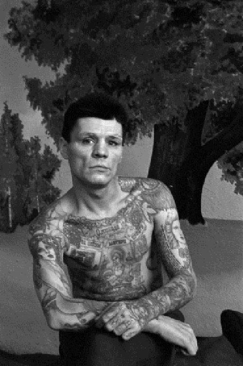 Russian Criminals Tattoo