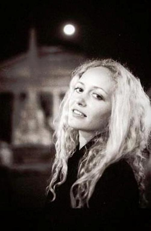 beautiful 23-year-old student Anastasia Vitkina