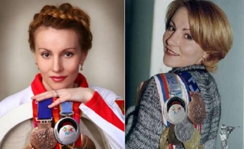 Albina Akhatova Most beautiful skiers and biathletes