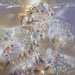 Glowing paintings by Alexander Maranov