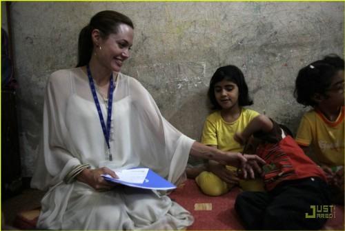 Goodwill Ambassador Angelina Jolie