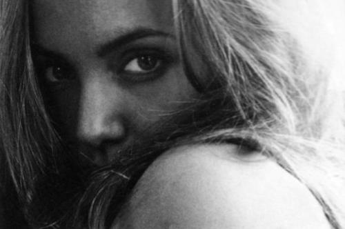 Young Angelina Jolie