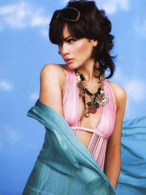 Anna loginova - the most beautiful female bodyguard