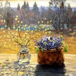 Artist V.Butko. Pussy – willow Sunday