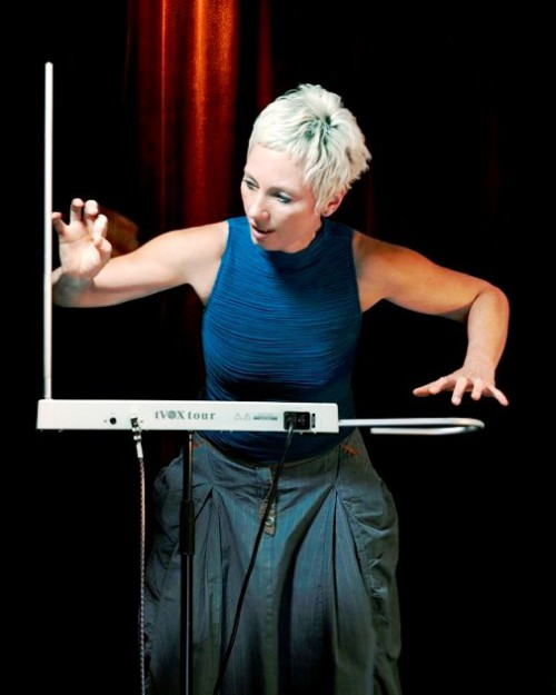 Barbara Buchholz (8 December 1959 – 10 April 2012) - German musician and composer. She was one of the leading theremin players of the world