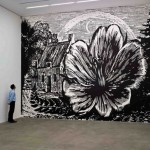 Large scale Botanical landscapes by English painter Paul Morrison