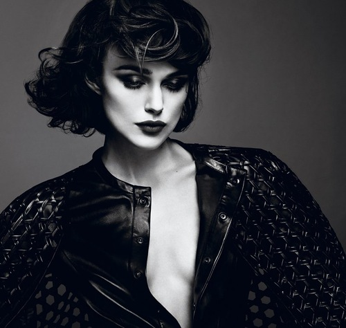 British actress Keira Knightley for Interview Magazine. Photographers Mert Alas and Marcus Piggot
