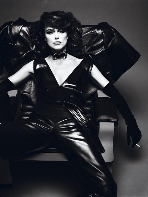 Gorgeous British actress Keira Knightley for April 2012 Interview Magazine. Photographers Mert Alas and Marcus Piggot