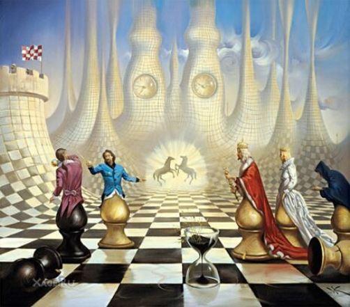 Chess art-science-sport