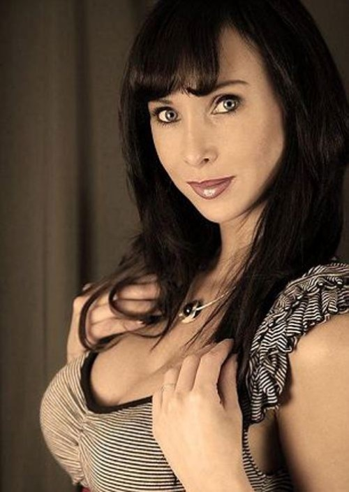 Fashion model Claudia Boerner