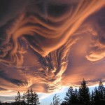 Impressive cloud formations