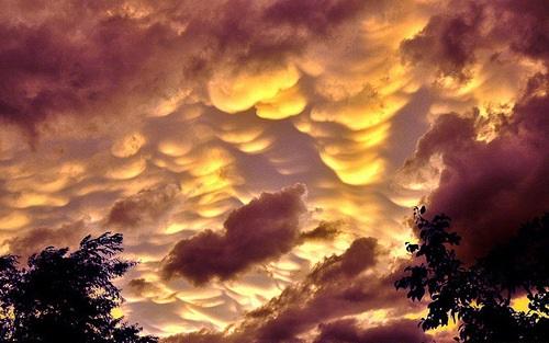 Mammatus cloud