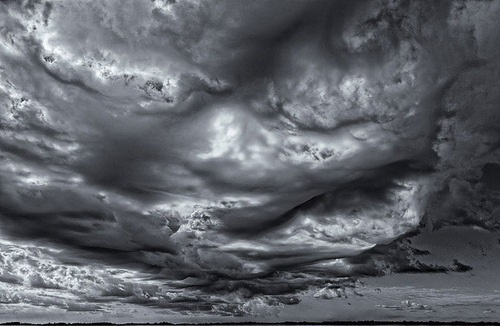 Gray skies are just clouds passing over. Duke Ellington