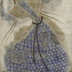 Dancer. Painting by Georgian artist Merab Abramishvili