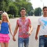 Daria Pynzar, Sergei Pynzar and his brother