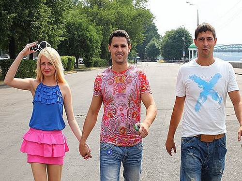 Daria Pynzar, Sergei Pynzar and his brother