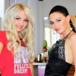 Dasha and her best friend Eugenia Feofelaktova