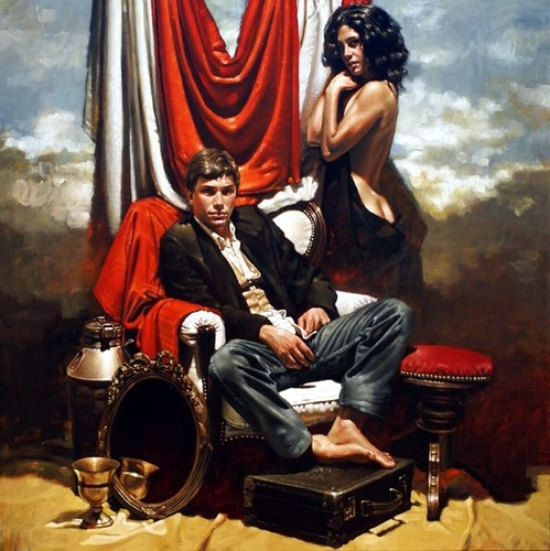 Breathtaking paintings by Diego Dayer