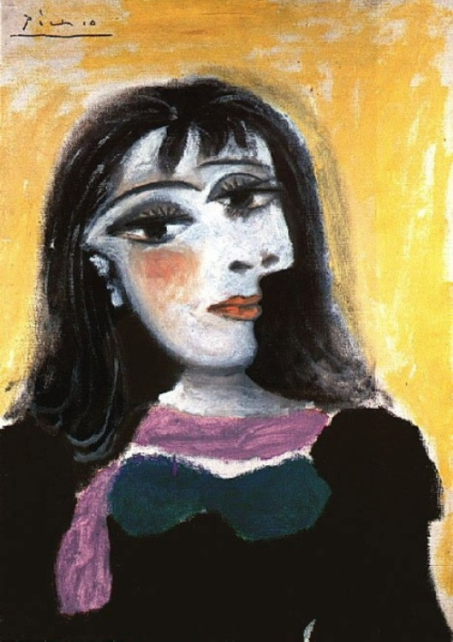 Portrait of Dora Maar. 1937 painting by Pablo Picasso