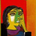 Pablo Picasso. Portrait of Dora Maar. 1937