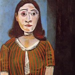 Created in 1942 portrait of Dora Maar