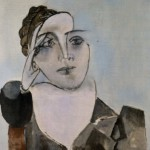 A cubist portrait of Dora Maar. Painting by Pablo Picasso