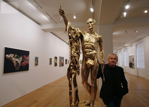 When Death is art Damien Steven Hirst. English artist