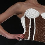 Chocolate dresses show at Portugal Festival