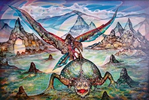 Russian artist Alexandr Rokhmistrov