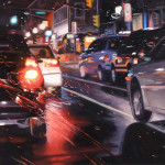 Hyperrealistic painting by American artist Gregory Thielker