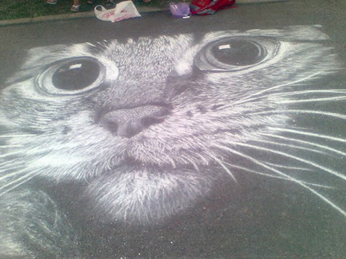 Chalk Masterpieces by Rustam Valeev