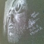 chalk drawing by Russian street artist Rustam Valeev