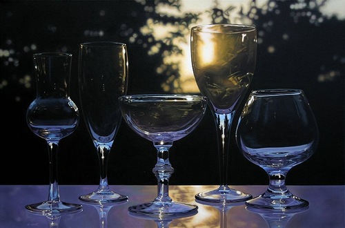 Hyperrealistic painting by Jason de Graaf, Canadian artist