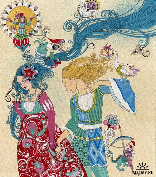 Beautiful Illustrations by Russian self-taught artist Svetlana Dorosheva